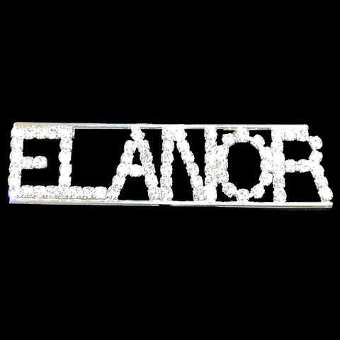 Elanor Rhinestone Pin
