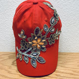 Flower Burst Baseball Hat Hats Bohemian Fashion