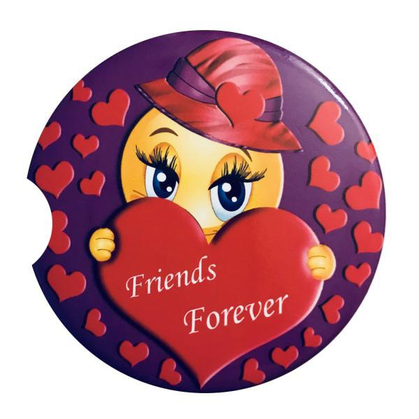 Friends Forever Car Coaster