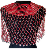 *Gladys Poncho Accessories/Shawl Apple Accessories Red