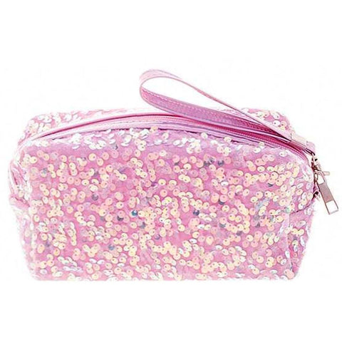 Harper Sequin Makeup bag