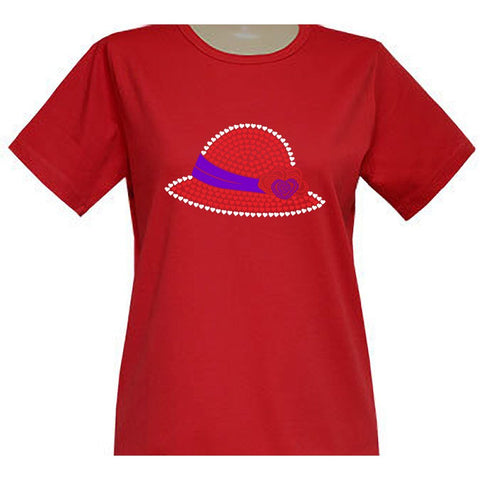 Helen Heart Hat Short Sleeve Classic Scoop