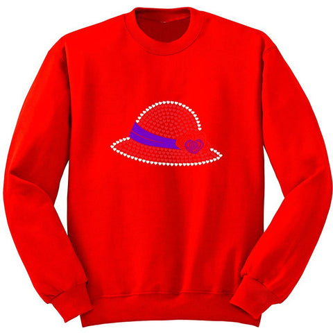 Helen Heart Hat Sweatshirt