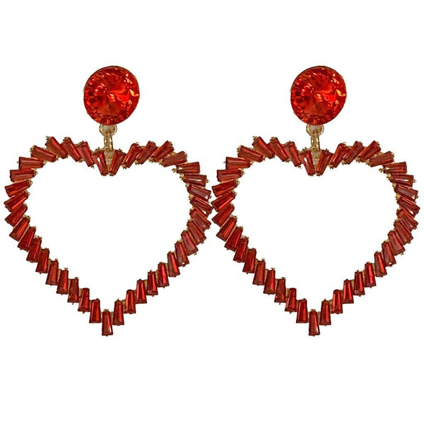 Tara Heart Earrings