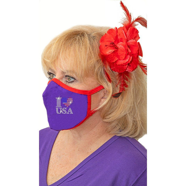 I Love USA Face Mask