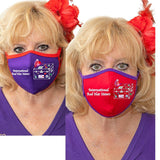 International Red Hat Sisters Face Mask Accessories Daniali R/P Set