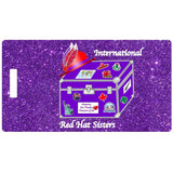International Red Hat Sisters Luggage Tag Accessories/Small Royal Splendor