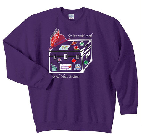 International Red Hat Sisters Sweatshirt