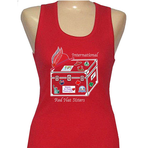 International Red Hat Sisters Tank Top
