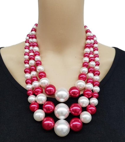 Betty Pearl Necklace Set