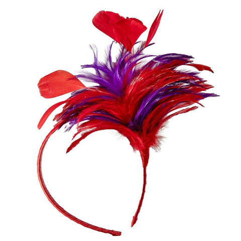 Jewel Feather Headband