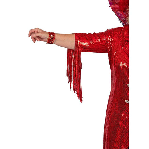 Lina Red Sequin Duster