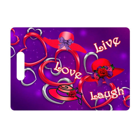 Live, Love, Laugh Luggage Tag
