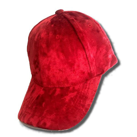 Madison Velvet Baseball Hat
