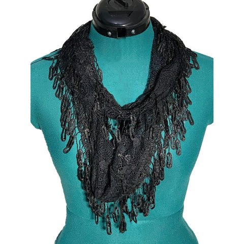 Marge Infinity Lace Scarf