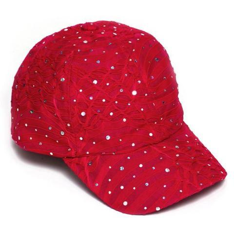 Mary Sequin Baseball Hat