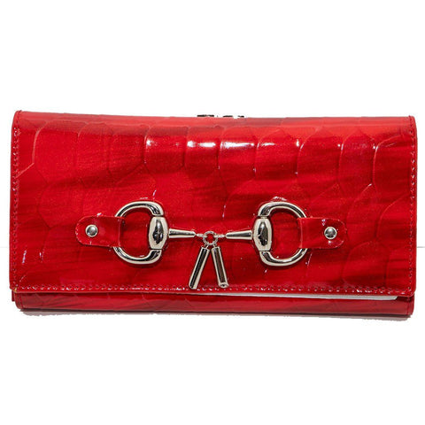 Opal Leather Snaffle Bitt Wallet