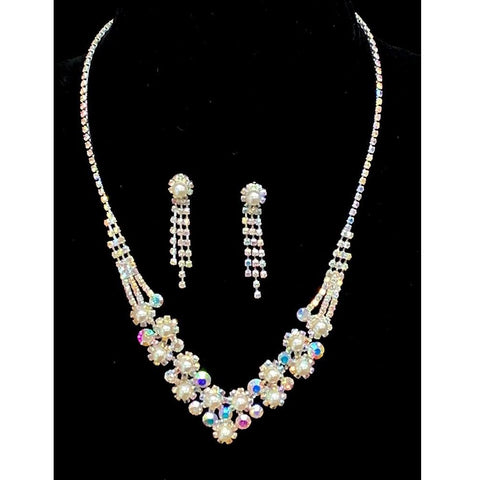 Pattie Pearl Necklace Set