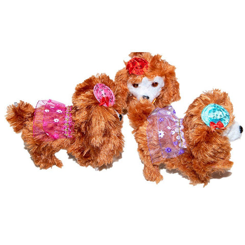 Poodle Toy Brown