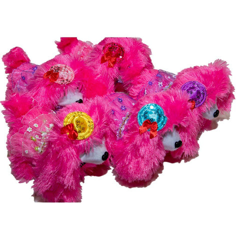 Poodle Toy Fuschia