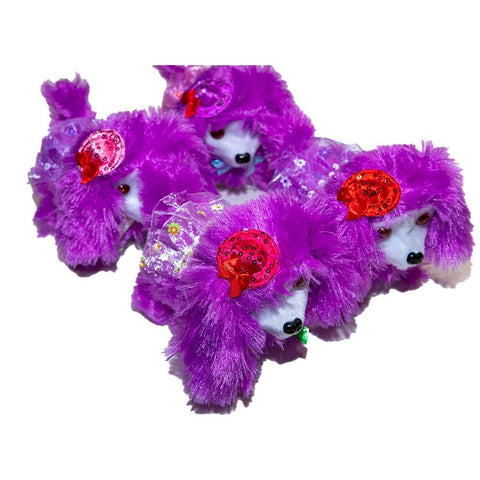 Poodle Toy Purple
