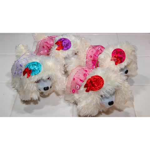 Poodle Toy White