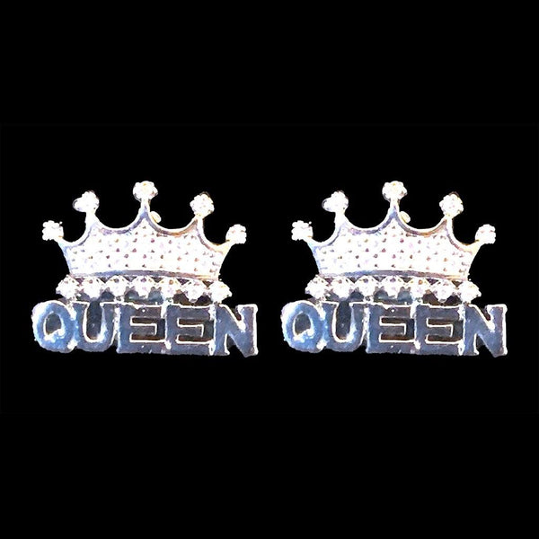 Queen Crown Earrings