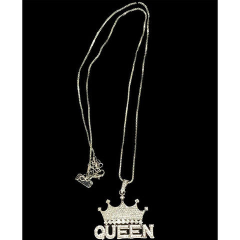 Queen Crown Necklace