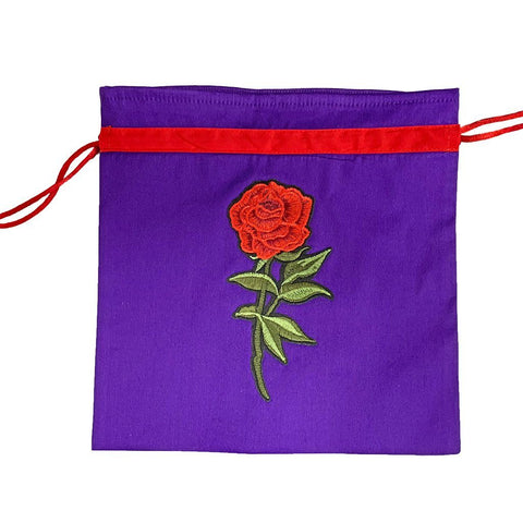 Ravishing rose Face Mask Bag