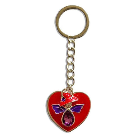 Red Hat Angel Key Rings