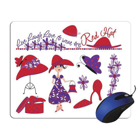 Red Hat Collage Mouse Pad