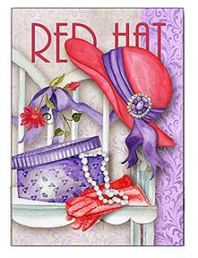 Red Hat Hatbox Note Card Set
