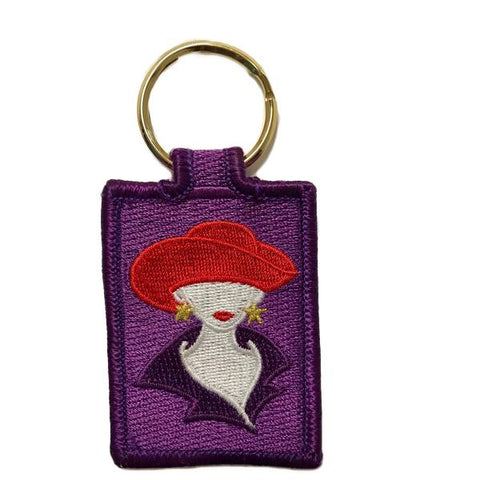 Red Hat Lady Key Ring