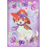 Red Hat Puppy Card Set Stationery It Takes Two