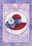 Red Hat - Thank You Card Stationery It Takes Two