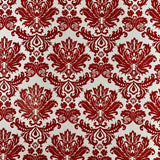 RHS - Damask Scrap Paper Stationery RHS Red