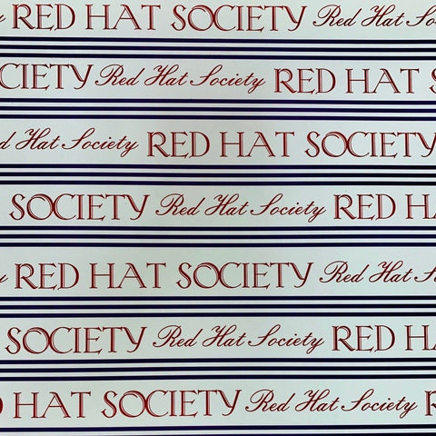 RHS - Red Hat Society Strips Scrap Paper