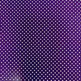 RHS - Red Poka Dots Scrap Paper Stationery RHS Purple
