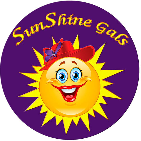 RHS - SunShine Gals Button Pin