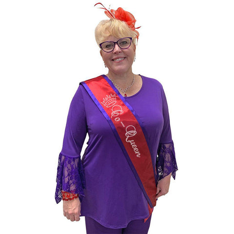 Royal Co-Queen Sash