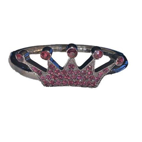 Royal Red Hatter Crown Bracelet