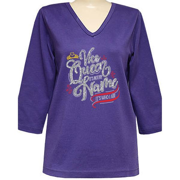 Royal Vice-Queen 3/4 Sleeve V-Neck Classic