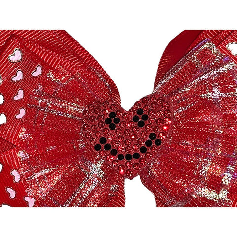 Smiling Love Bow Hair Clip