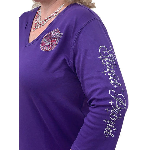 RHS - Stand Proud 3/4 Sleeve V-Neck Classic