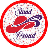 stand proud Button Pin Button Pin Half Price Buttons