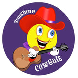 SunShine Cowgals Iron On Patch Accessories/Small Conde