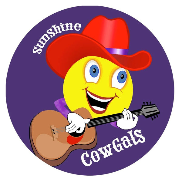 SunShine Cowgals Iron On Patch