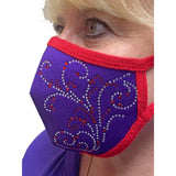 Swirl Face Mask Accessories Daniali