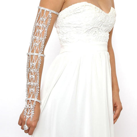 Waverly Rhinestone Arm Band