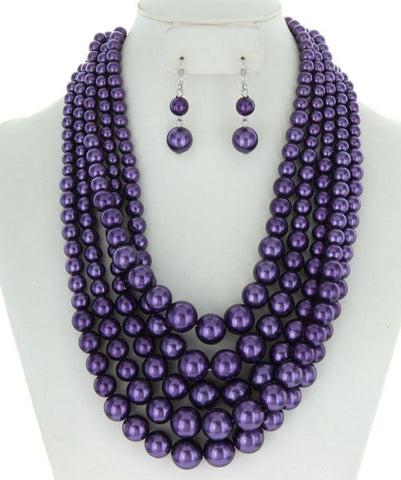 Wendi Beaded Necklace Set